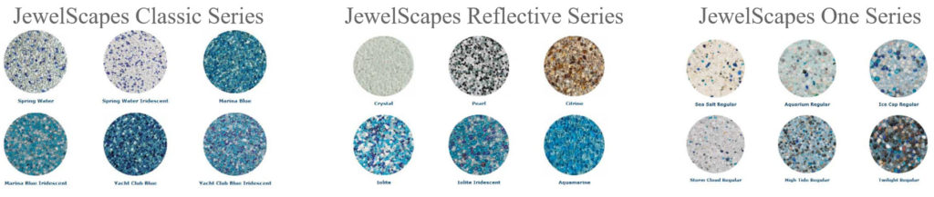 JewelScapes Pool Plaster Series